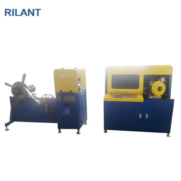Spiral Tube Making Machine , Perforated Core Filter Production Machinery