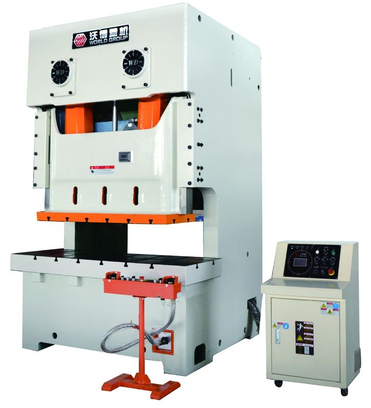 Two Point Metal Stamping Press Machine PLC Control JH25 Series Stable Performance