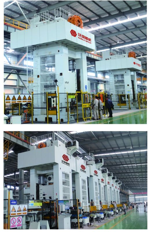 Closed Type Automatic Metal Stamping Machine , Single Point Hydraulic Press Machine