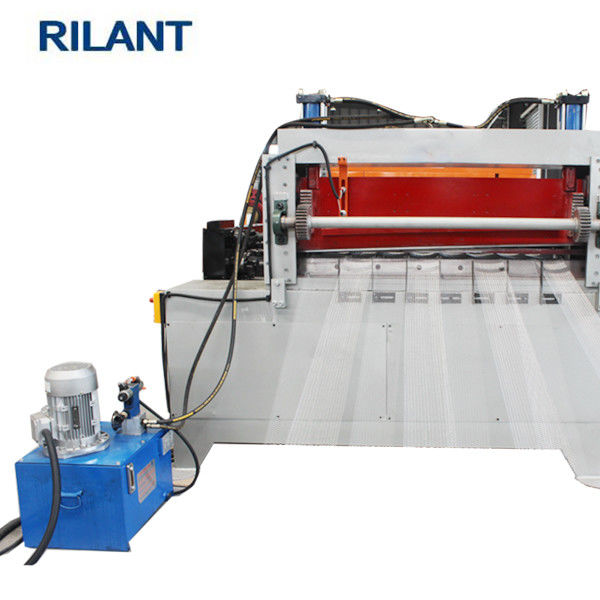 2.2KW 600mm Expanded Metal Mesh Machine 300 Strokes / Min Production Speed